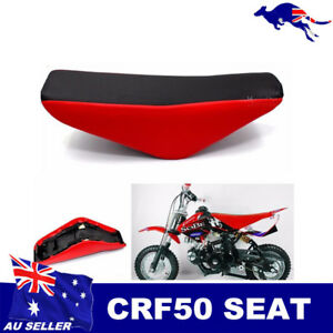 Red-Tall-Seat-For-CRF50-XR50-Bikes-Honda-Replica-Atomik-Pitpro-Thumpstar-DHZ