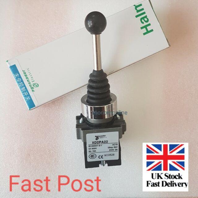 4 Position 4NO Spring Return Wobble Joystick Switch F Boat Conveyor XD2PA24CR TR