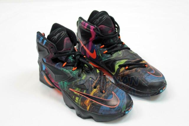 acd531b8aafb Nike Lebron XIII 13 Philosophy Akronite Multi Color Sz 9.5 807219 ...