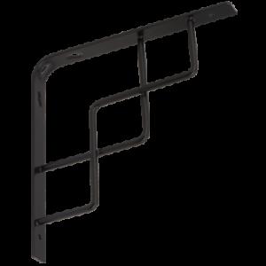 1x Square Decorative Shelf Holder Shelf Carrier Shelf Angle Shelf Bracket Angle