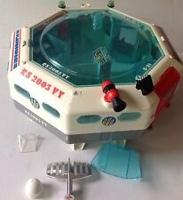 Vintage PlayMobil 1980 SPACE STATION 3536 Playmo Space Toy Playset