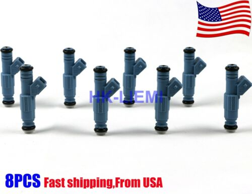 New 8 24lb Fuel Injectors Matched Chevrolet Ford Pontiac LS1 LT1 5.0L 5.7L 250cc