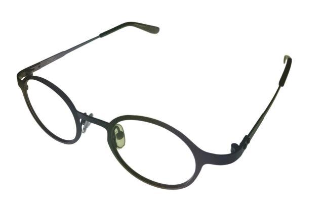 19b91e7cfd31 Converse Ophthalmic Men Eyeglass Round Metal Frame Gunmetal P005 Jack  Purcell