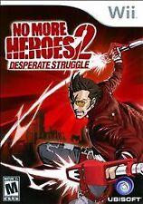 2010 No More Heroes 2: Desperate Struggle Nintendo Wii Game
