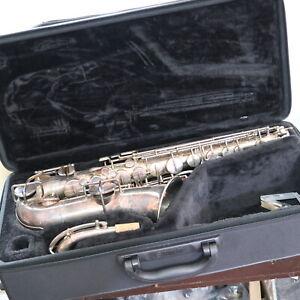 Selmer New York Vintage Alt Saxophon Nr. 62348 Low Bitch