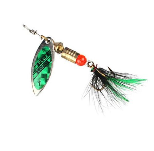 5PCS Spinnerbait Fishing Lures Spoon Lure Fishing Wobblers Carp Accessories Leu