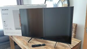 """43"""" Sony Bravia KD43XH9196BU 4K ULTRA HDR Android Smart LED TV  Screen Faulty"""