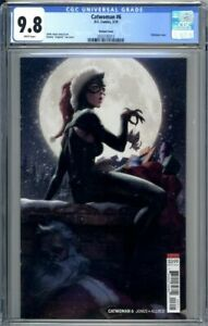 CATWOMAN-6-Lau-Artgerm-Variant-Cover-CGC-9-8-Christmas-Cover-L-K