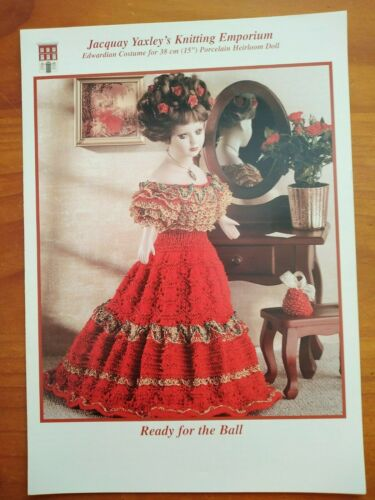 Various Delightful Period Doll Costumes Jacquay Yaxley Knitting Patterns