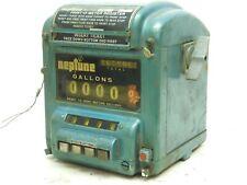 Vintage Neptune Print O Meter Register Model 434 Code 5 Antique Gas Oil Meter Mo