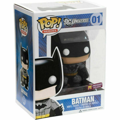 DAMAGED BOX Funko DC Universe  PX Exclusive POP Batman Vinyl Figure #01