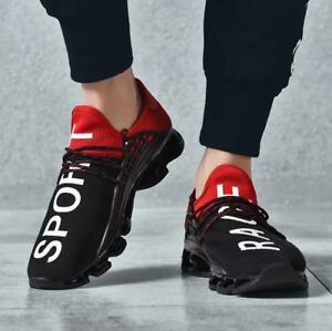 Mens-Sports-Shoes-Breathable-Sneakers-Running-Outdoor-Walking-Casual-Athletic-SZ