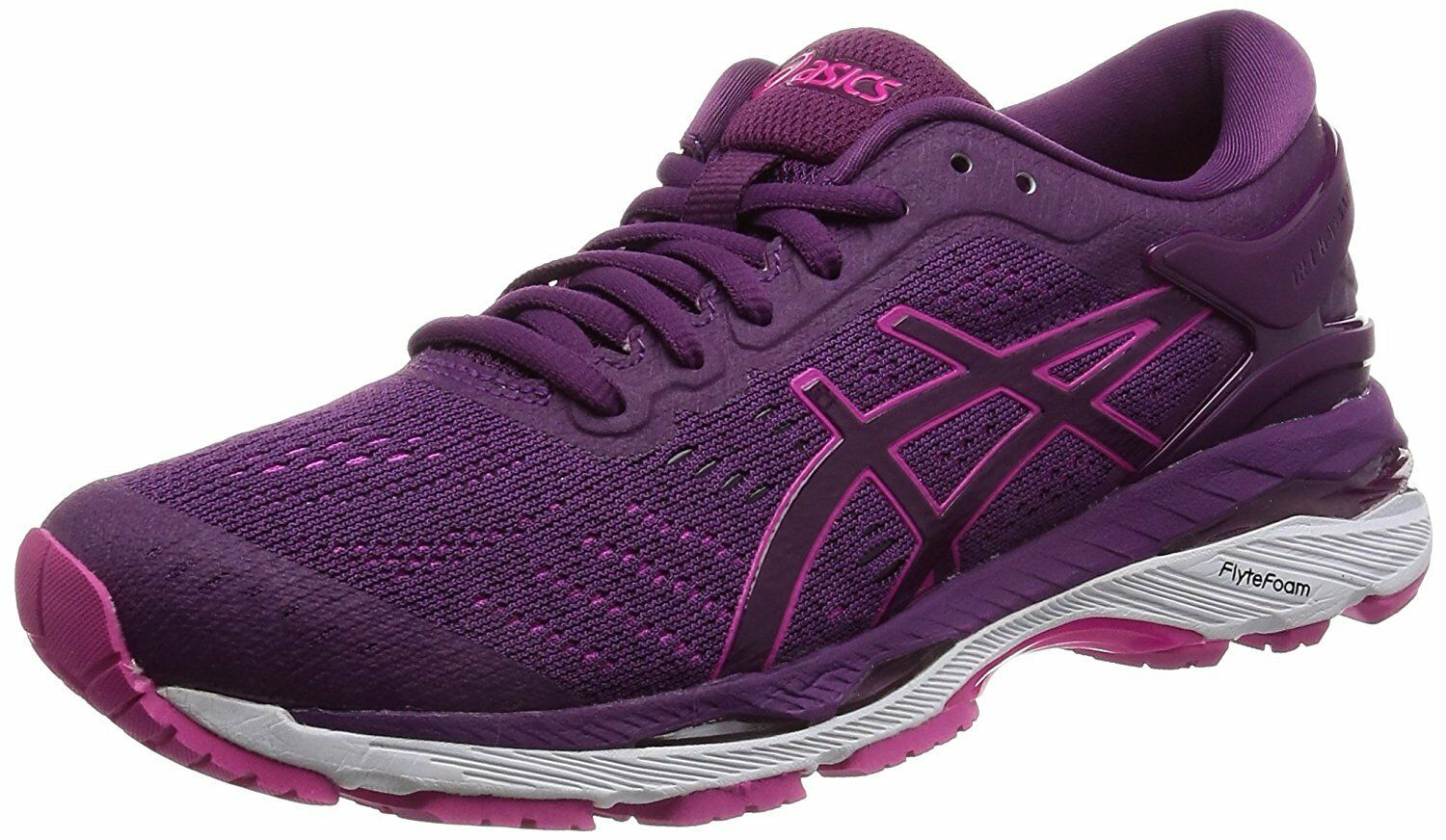 ASICS Running Shoes LADY GEL-KAYANO24 TJG758 Prune Pink Glow US7(24cm)