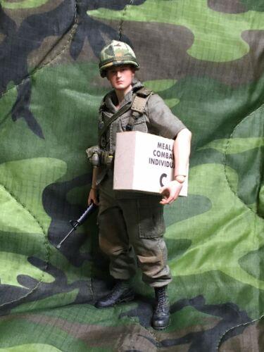"""Échelle 1-12 Vietnam C-Ration Feuilles pour échelle 6/"""" Toys"""