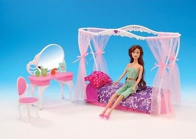 2609 Rose Palace Dressing room /& Mirror Gloria,Barbie Size Doll  Furniture//