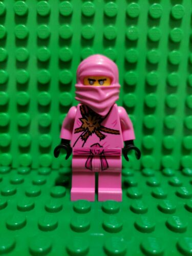 LEGO Ninjago Zane Avatar Pink Ninja Minifigure Gamers Market 71708 njo561 NEW