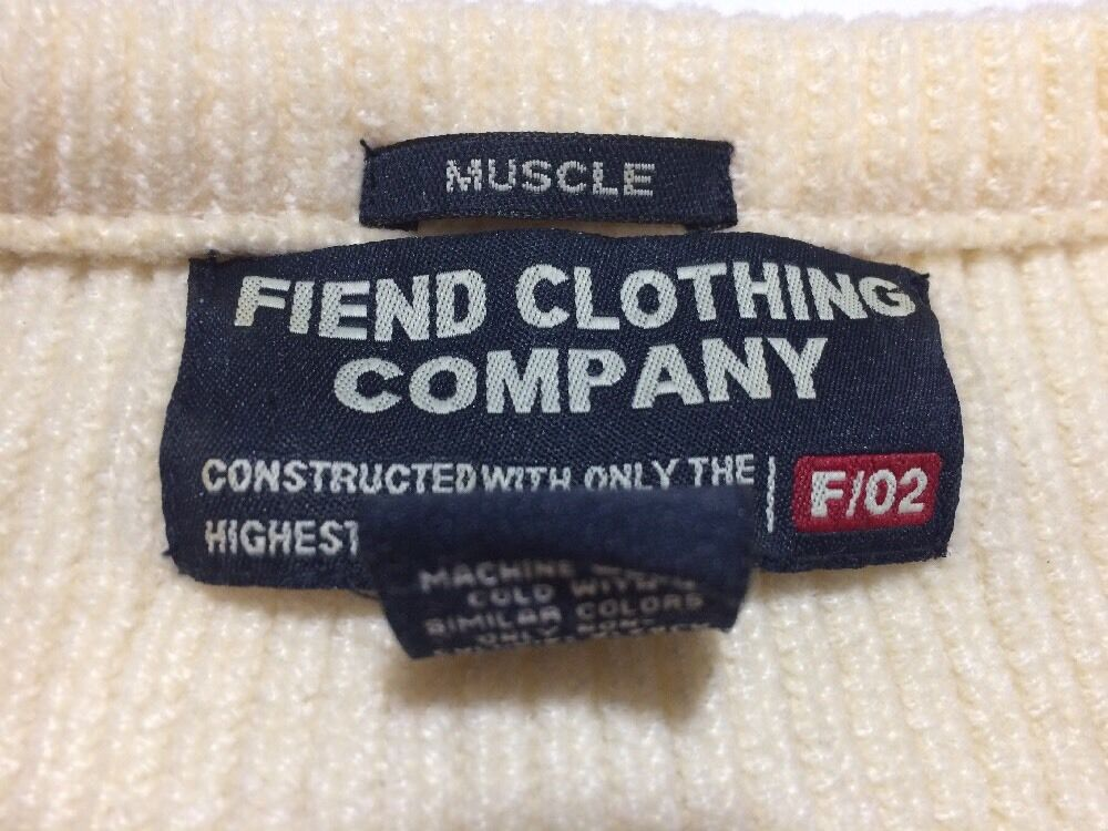 SWEATER FIEND CLOTHING COMPANY SIZE XL - image 6