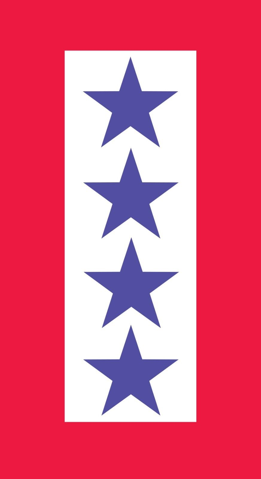 FOUR 4 Blau STAR MOTHER'S SERVICE FLAG VINYL DECAL DECAL DECAL son daughter army navy usmc 7b81a9