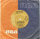 "GIBSON BROTHERS - QUE SERA MI VIDA ( IF YOU SHOULD GO - 7"" 45 VINYL RECORD 1979"