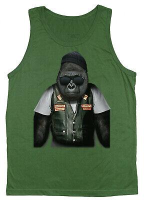Men/'s sleeveless shirt biker design decal muscle shirt men/'s tank top tee
