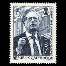 Austria 1994 - 100th Anniv of the Birth of Karl Bohm Music - Sc 1658 MNH