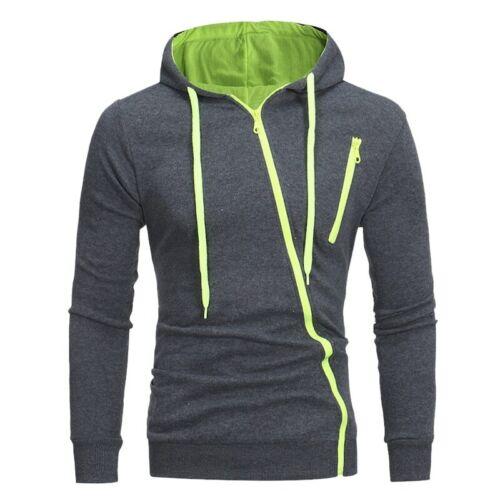 Sudadera para hombre de moda Otoño Invierno con capucha de manga larga suéter