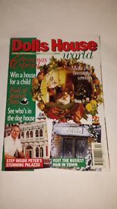 Ambitieux Maison De Poupées Monde Magazine Issue 51-afficher Le Titre D'origine