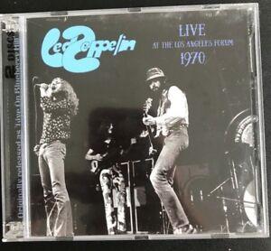 LED-ZEPPELIN-034-Live-Los-Angeles-Forum-1970-034-RARE-2-CD