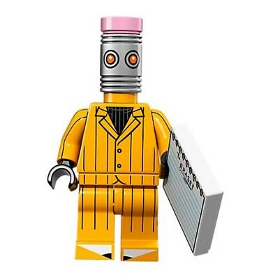 ERASER head #12 New Sealed 71017 2017 Lego Batman Movie Series Minifigure