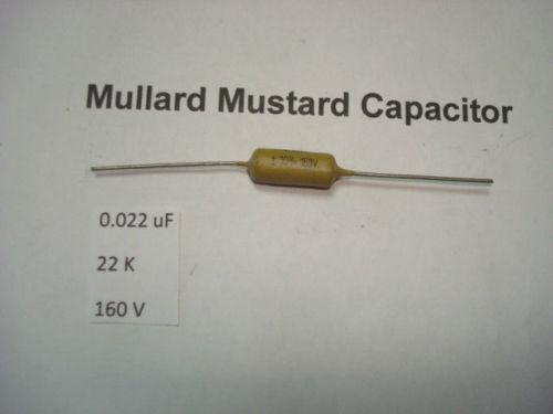 RC1 0.022uF 22K 160V 10/% *1PC* HIFI MULLARD MUSTARD CAPACITOR