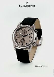 Daniel Hechter Contour For Men Prospekt 2002 9/02 Uhrenprospekt Brochure Watch Uhren & Schmuck