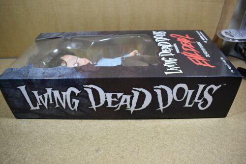 Mezco Living dead dolls Détecteur de poussières lunaires Evil Dead 2 Ash zombie variant exclusive Figure BN
