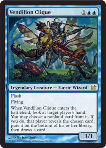 English MTG 1x Vendilion Clique Foil Modern Masters NM-Mint
