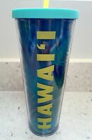 Starbucks Hawaii 2016 Palms Coffee Tumbler Cold Cup 24 Oz. Venti With Tags