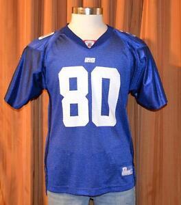 NEW YORK GIANTS JEREMY SHOCKEY  80 Reebok Vintage Football Jersey ... a4834fb6c