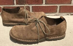 1acaf266e9f COLE HAAN COUNTRY Brown Nubuck Leather Ankle Oxford Shoes Men's Size ...