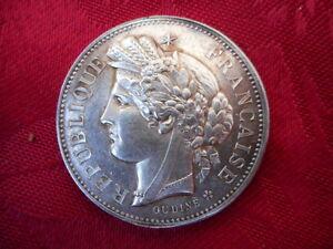 """Medaille En Argent Epoque 1900 """"certificat D' Etudes Primaires"""" Par """"oudine"""" Large SéLection;"""