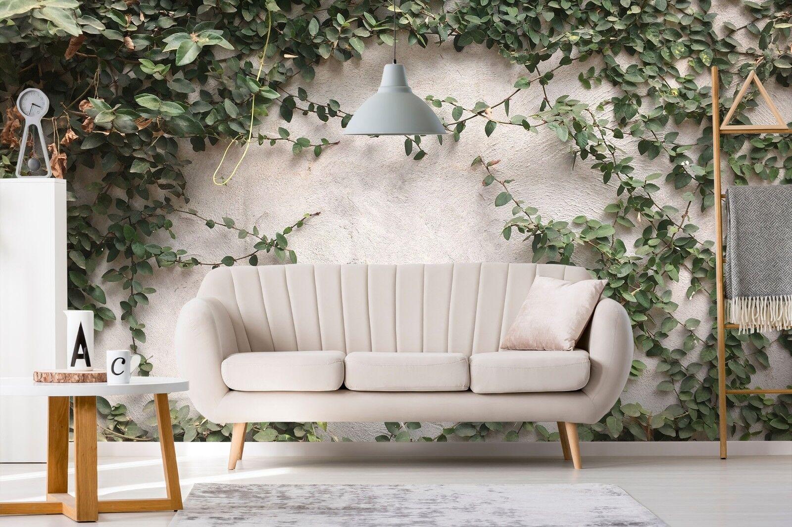 3D Green Leaves 977 Wallpaper Mural Paper Wall Print Murals UK Lemon