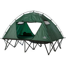 Tent Cot Double Camping Kamp Rite Oversize Large Collapsible On For Two Person