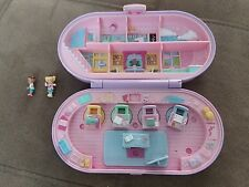 Vintage 1992 Bluebird Polly Pocket Compact school stamp set