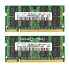 Samsung 4GB 2X2GB PC2-6400 DDR2-800 800Mhz DDR2 200pin Sodimm Laptop Speicher