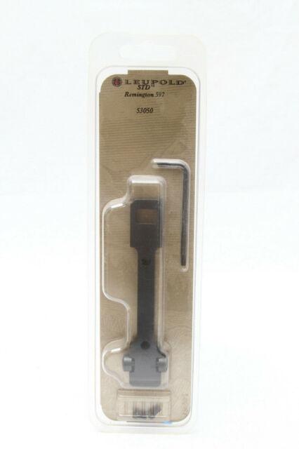 Leupold 53050 STD 1pc Scope Mounting Base Matte Black for Remington 597 for sale online