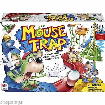 Mousetrap Board Game. Mouse Trap 2005 Edition Family Fun Gameboard FREE SHIPPING