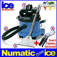 Numatic Ct370 Carpet & Upholstery Stain Removal Soil Extraction Cleaning Machine