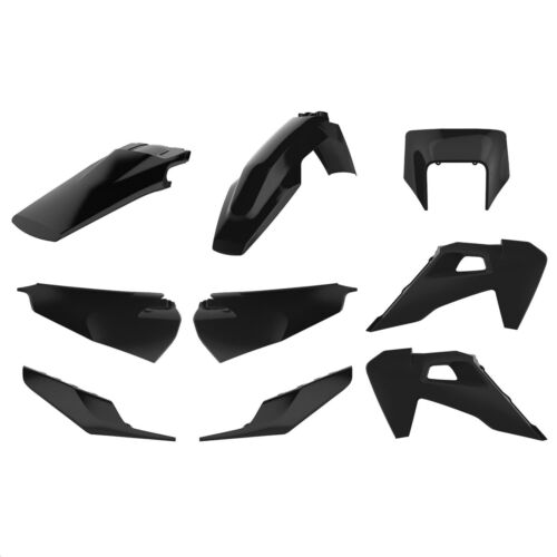 Black Polisport 90903 Plastic Kit