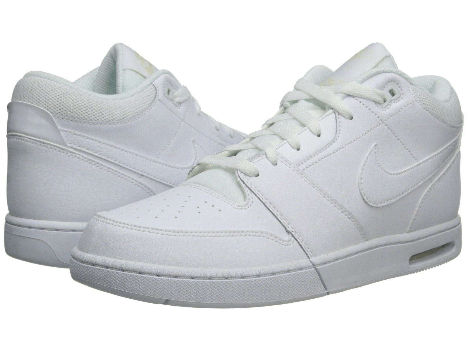 Nike air indietro gli uomini scarpe da da da basket di pelle bianca, nuova fede nike d1f367