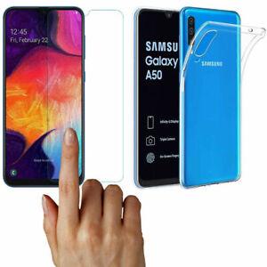 Transparent-Silicone-Case-Bumper-Case-Ultra-Slim-Cover-For-Samsung-Galaxy-A50