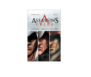 NEW ASSASSIN/'S CREED THE ANKH OF ISIS TRILOGY GRAPHIC NOVELS HARDBACK GAME BASED