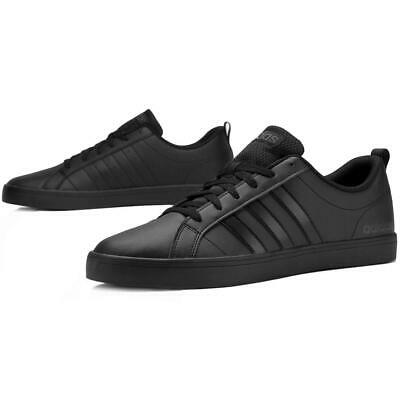 Adidas Men Shoes Fashion Sneakers Man VS Pace 3 Stripes Black Casual New B44869 | eBay