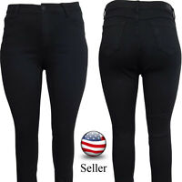 Womens Plus Size Black Jeans - Super Stylish And Comfortable - Sizes 14-22